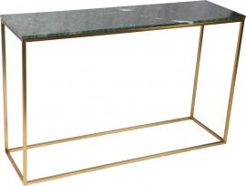 Newline Marble Konsolbord 120cm grön/mässing