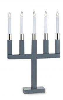 Markslöjd Sundstorp elljusstake grå 54cm