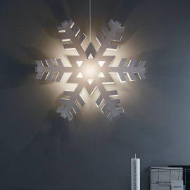 Markslöjd Nygården julstjärna vit 48cm miljbild