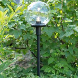 Stolplykta sfär 3W 60cm Markslöjd Garden 24
