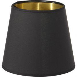Mia Lampskärm Metallinsida svart/guld 20cm PR Home
