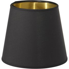 Mia Lampskärm Metallinsida svart/guld 17cm PR Home
