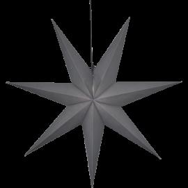 Star Trading Ozen adventsstjärna i papper grå 100cm