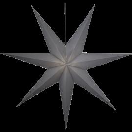 Star Trading Ozen adventsstjärna i papper grå XL 140cm