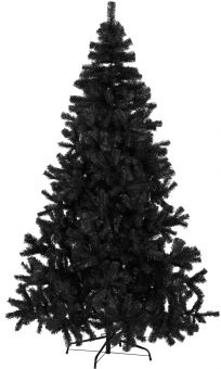 Quebec julgran/plastgran 210cm svart