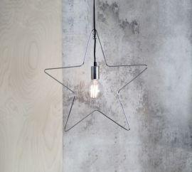 Adventsstjärna Ramsvik krom 50cm