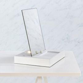 Markslöjd Reflect Sminklampa USB Vit