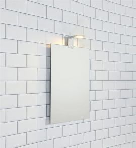 Rennes spegellampa krom IP44