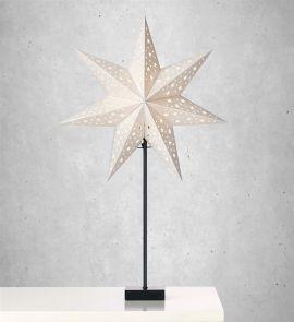 Markslöjd Solvalla bordsstjärna silver 69cm