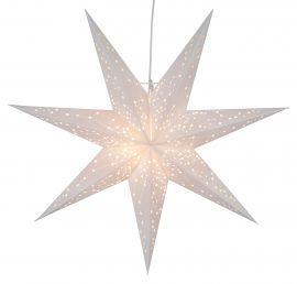 Adventsstjärna Galaxy vit 60cm frilagd