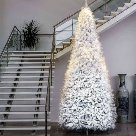 Colorado julgran/plastgran 500cm vit miljöbild