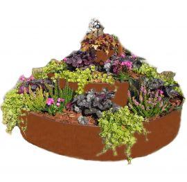 Odlingskrage Tårtan 120cm 3-stegs Rostbrun Ventura