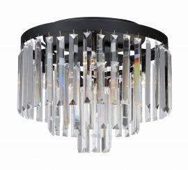 Ventimiglia plafond från Markslöjd. Mysig kristallplafond med maskinskurna prismor i glas.