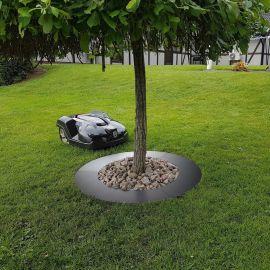 Trädring för robotgräsklippare 90cm svart