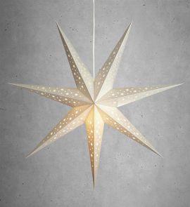 Markslöjd Solvalla pappersstjärna silver 75cm