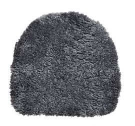 Fårskinnssits Oz Charcoal 38x40cm