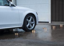Solcells-spotlight Driveway Infartsljus 12cm