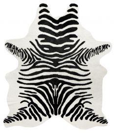 Kohud fake Victor zebra svart/vit 150x200cm
