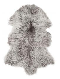 Shansi Lammskinn grå 95cm