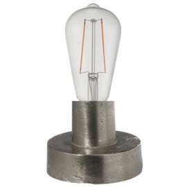Notice bordslampa råsilver