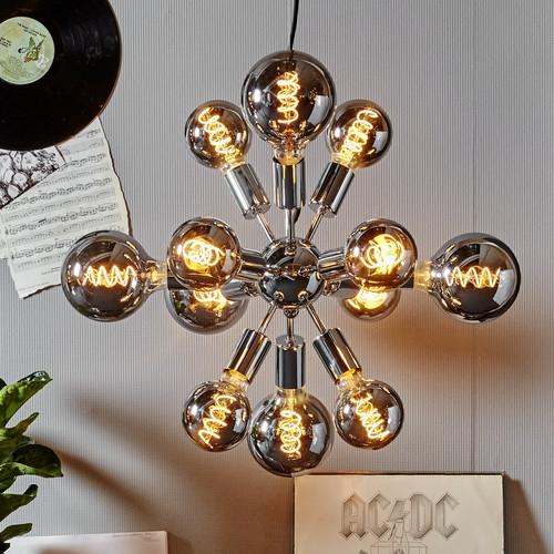 Star Trading LED-lampor smoked i taklampa