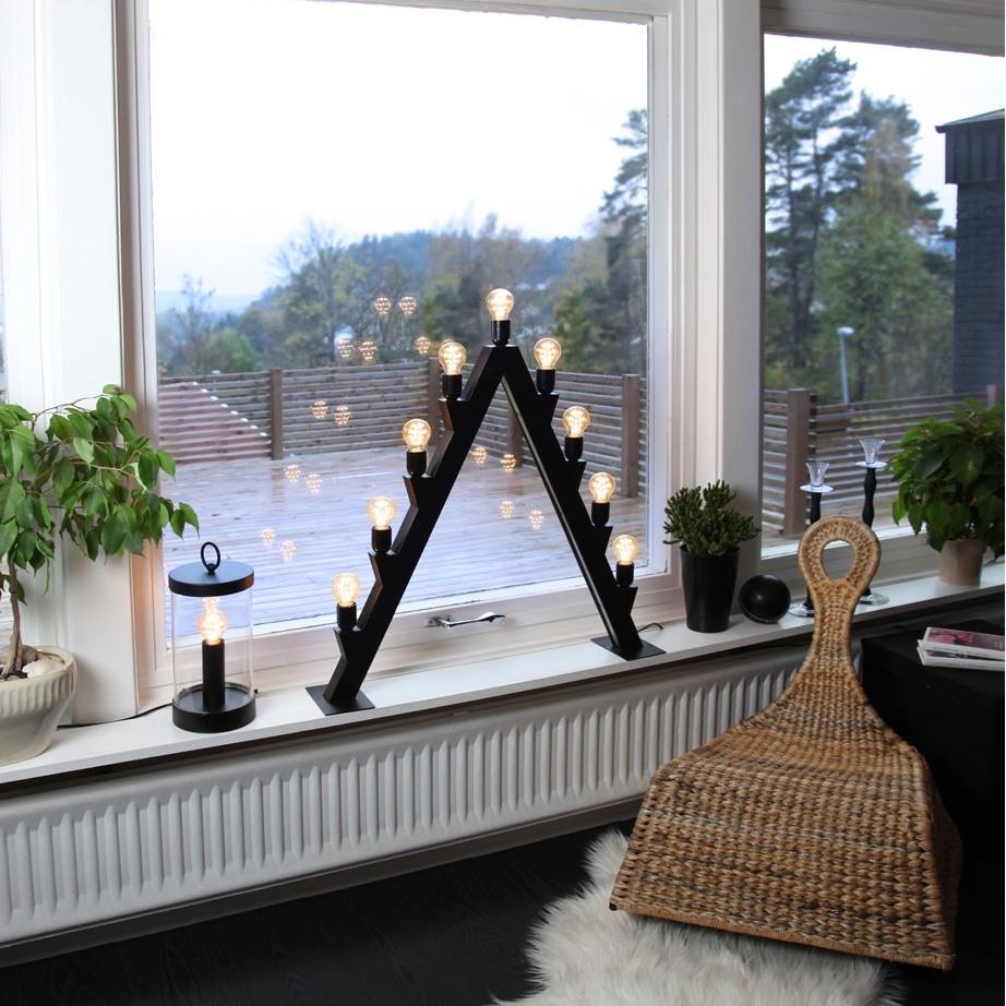 elljusstake för stora fönster eller entreer